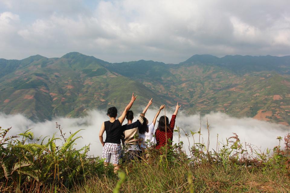 Vẻ Đẹp Thiên Đường Mộc Châu, Tà Xùa Tháng 10 12