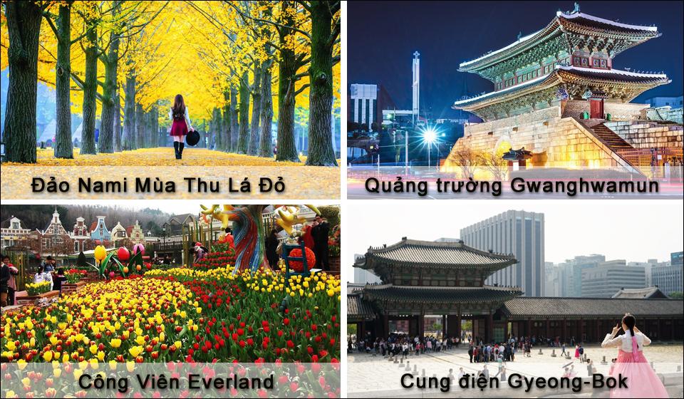 Du Lịch Hàn Quốc Mùa Thu Lá Đỏ 5 Ngày 4 Đêm 9